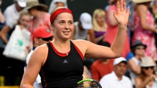 Ostapenko jaunnedēļ debitēs WTA ranga pirmajā pieciniekā
