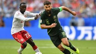 Līdzvērtīgā cīņā Dānija un Austrālija uzvarētāju nenoskaidro