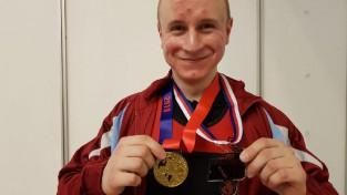 Liepiņam 4.vieta pasaules studentu čempionātā klasiskajā spēka trīscīņā