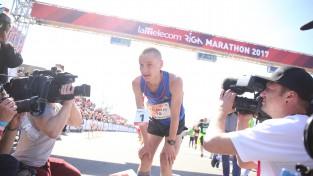 Žolnerovičs Tallinā uzrāda Latvijas šosezon labāko rezultātu pusmaratonā