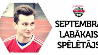 Gruzīns Gogolašvili nosaukts par 1. līgas labāko spēlētāju augustā