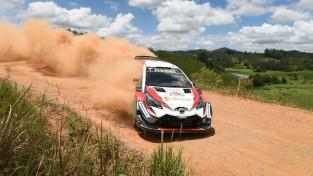Titulu kārojošais igaunis Tenaks pārņem vadību pēc WRC pēdējā posma 2. dienas