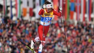 Eiduka izcīna 60. vietu Pasaules kausa desmit kilometru brīvā stila slēpojumā