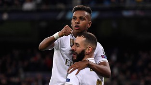 "Rodrigu <i>hat-trick</i>, Madrides ""Real"" saplosa turkus, PSG atsit pendeli un tiek tālāk"