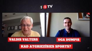 Video: Ģenerālis & Uga Dumpis: Kad Latvijā un pasaulē atgriezīsies sports?
