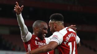 """Lakazetam 50. vārti klubā, Londonas """"Arsenal"""" blāvā spēlē izrauj uzvaru"""