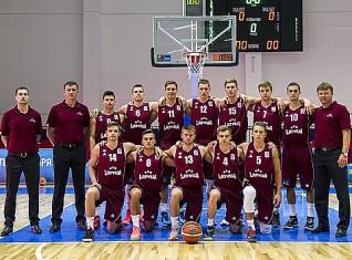 U18 puišu izlase finišē ar 8.vietu Eiropā