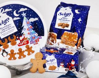 """""""Laima"""" un """"Selga"""" ražotājs laiž klajā Ziemassvētku produktu kolekciju un jauna veida piparkūkas"""