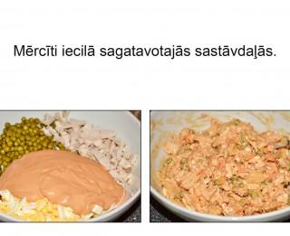 Fotorecepte: Vistas gaļas salāti soli pa solim