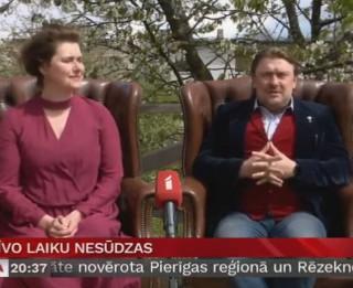 Video: Elīna Vāne un Imants Strads par brīvo laiku nesūdzas