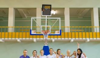 Foto: VEF LJBL Sportland U15 grupas meiteņu fināls Daugavas sporta namā.