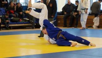 Foto: Džudisti sadala medaļas valsts čempionātā