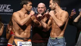 """Foto: """"UFC on Fox 15"""" svēršanās procedūra"""