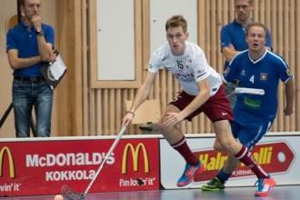 Vīriešu izlasei divas uzvaras un zaudējums Somijā
