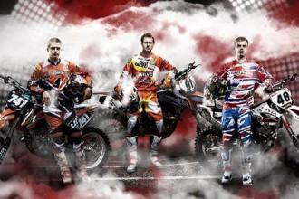 Iepazīsti Latvijas motokrosa izlases dalībniekus