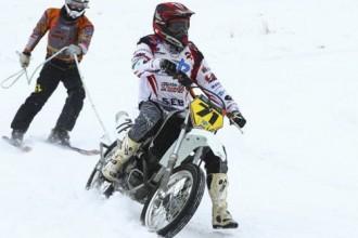 Latvijas čempionāts skijoringā Dignājā 01.02.