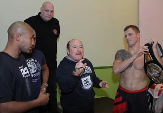 Foto: Maira Brieža boksa vakara sportisti nosvērušies