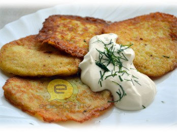 Fotorecepte: Kartupeļu pankūkas