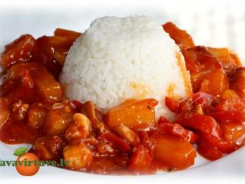 Fotorecepte: rīsi brīnumgardā mērcītē soli pa solim
