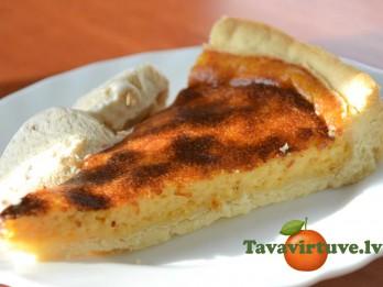 Fotorecepte: Sāļā siera kūka - pati kūst mutē
