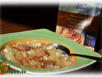 Fotorecepte: Piena - ābolu zupa soli pa solim