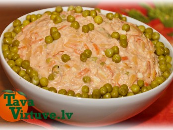 Fotorecepte: Vistas gaļas salāti