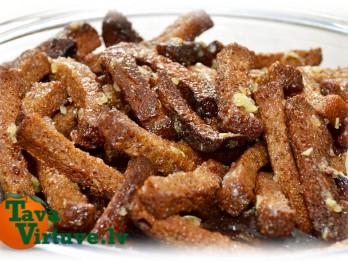 Fotorecepte: ķiploku grauzdiņi