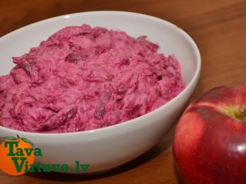 Fotorecepte: biešu salāti