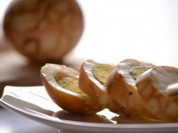 Aromātiskās marmora olas ķīniešu gaumē