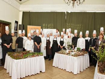 Labākie šefpavāri gatavo Rīgas arhitektūras pērles no ēdiena