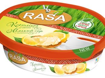 Jauni RASA krēmsieri ar citronu un olīvām