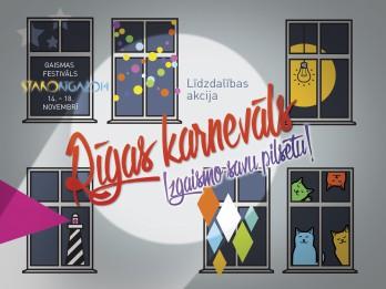 """Vērienīga """"Staro Rīga 2014"""" līdzdalības akcija krāšņi izgaismos pilsētu"""
