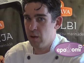 Video: Sirmais un Dreibants prezentē jaunu marinētās gaļas līniju