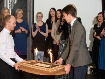 """""""Laimas"""" šokolādes muzejs svin 2 gadu jubileju un sveic 65 tūkstošo apmeklētāju"""