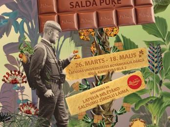 """Izstāde """"Saldā puķe"""" Latvijas Universitātes Botāniskajā dārzā"""
