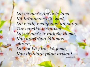 Tava vārda skaidrojums (nozīme) un ietekme uz tavu likteni. 27. maijs- Dzidra, Dzidris, Gunita, Loreta