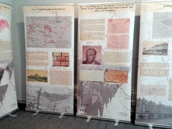 Muzejā skatāma izstāde par ungāru tautas traģiskajām vēstures lappusēm