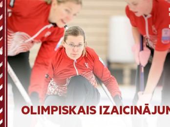 Video: Edgars Buļs ar Ziniti Ekmani uz kērlinga sacensībām izaicina Latvijas izlasi!