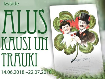 """Izstāde """"Alus kausi un trauki"""" muzejā """"Rīgas Jūgendstila centrs"""""""
