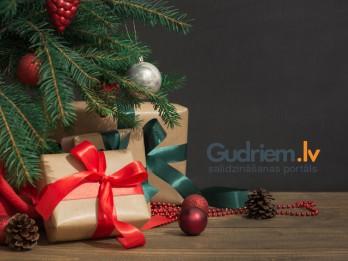 Desmit Ziemassvētku dāvanu idejas
