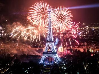 Parīzes vizītkarte un Francijas simbols- Eifeļa tornis
