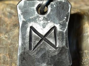 Rūna veiksmes un veselības talismana izveidei. Dagaz