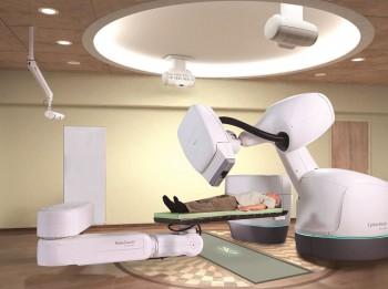 Ar robotu Cyberknife®  turpmāk iespējams ārstēt audzējus iekšējos orgānos bez ķirurģiskas iejaukšanās