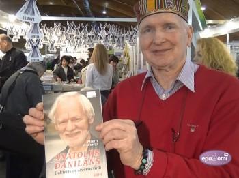 Video: Apgāds JUMAVA izstādē prezentē grāmatas par izcilām personībām