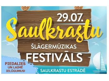 Laimē ielūgumus uz Saulkrastu Šlāgermūzikas festivālu
