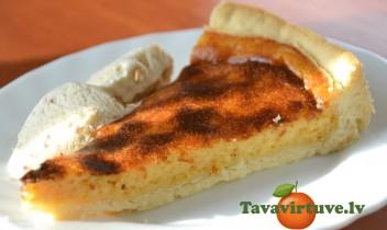 Fotorecepte: Sāļā siera kūka- pati kūst mutē