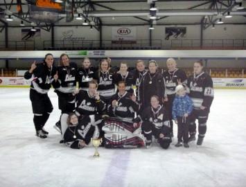 Noslēdzies Latvijas čempionāts hokejā sievietēm