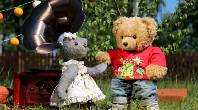 """Iznākusi otrā grāmata bērniem par lācīti Rūdi – """"Kā lācītis Rūdis dārza svētkus rīkoja"""""""
