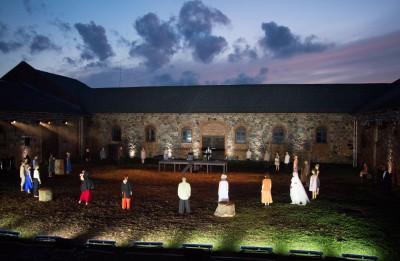 Foto: Valmieras vasaras teātra festivāla spilgtākie mirkļi
