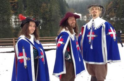 """""""3 musketieri. Uz austrumiem no Vīnes"""" Rīgas pirmizrāde jau 11. maijā (+VIDEO)"""